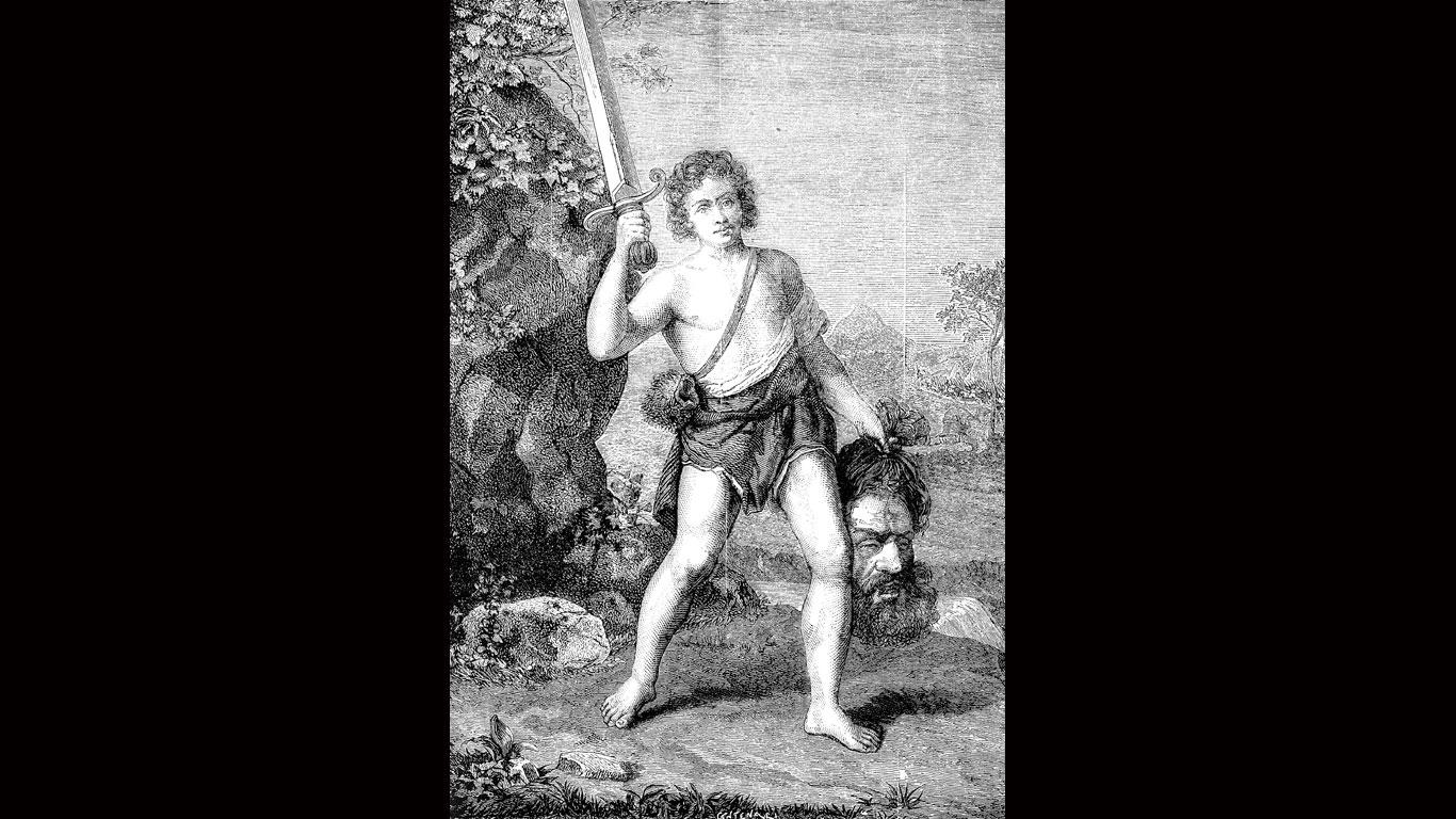 Mythos Nr. 4: David und Goliath