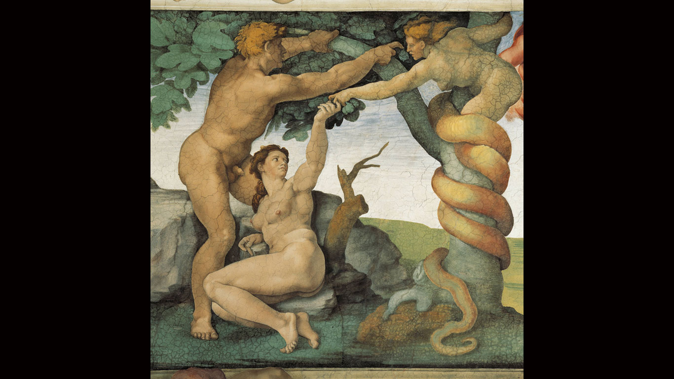 Mythos Nr. 5: Adam und Eva im Paradies