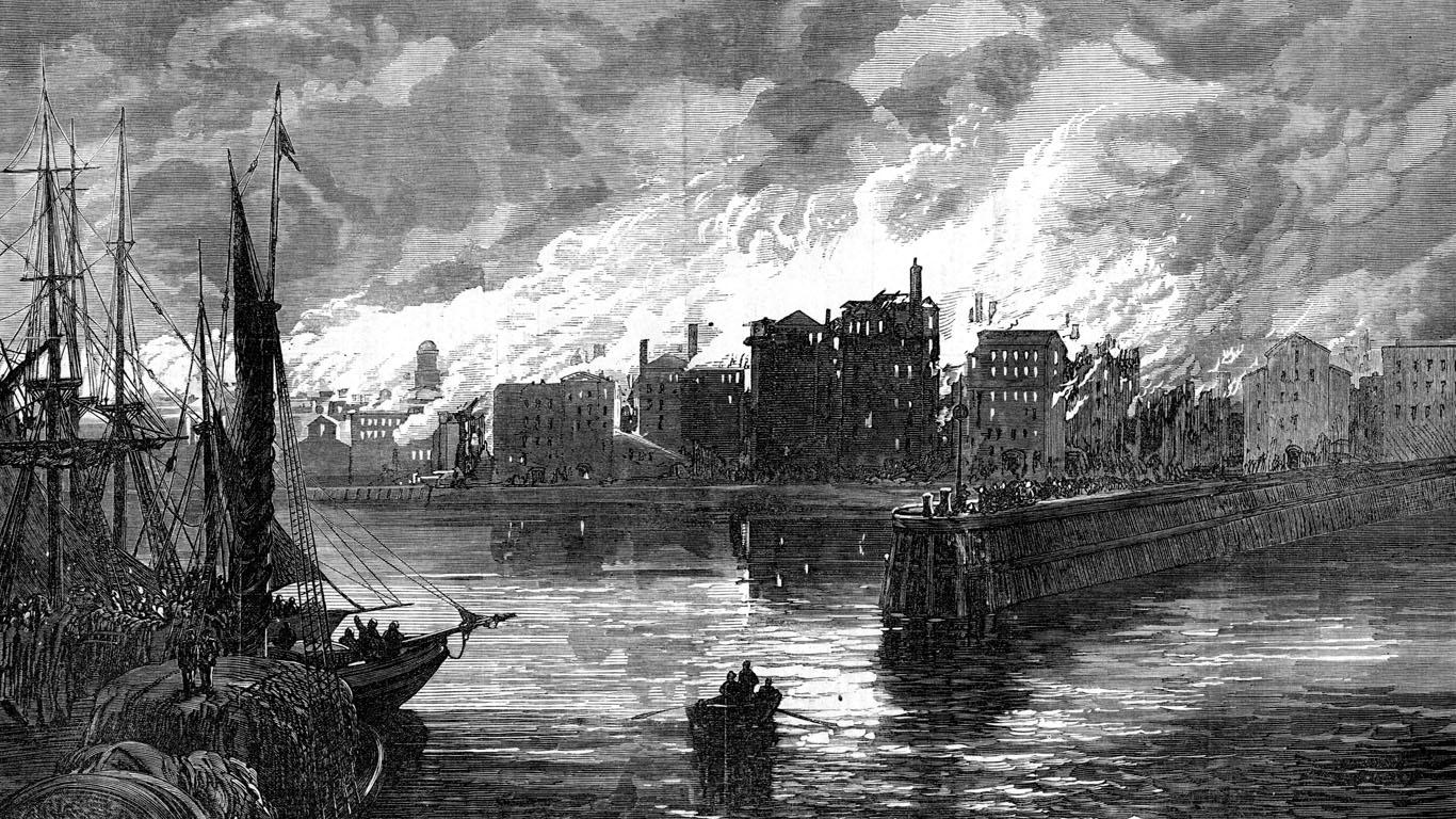 Oktober 1871: Der große Brand von Chicago
