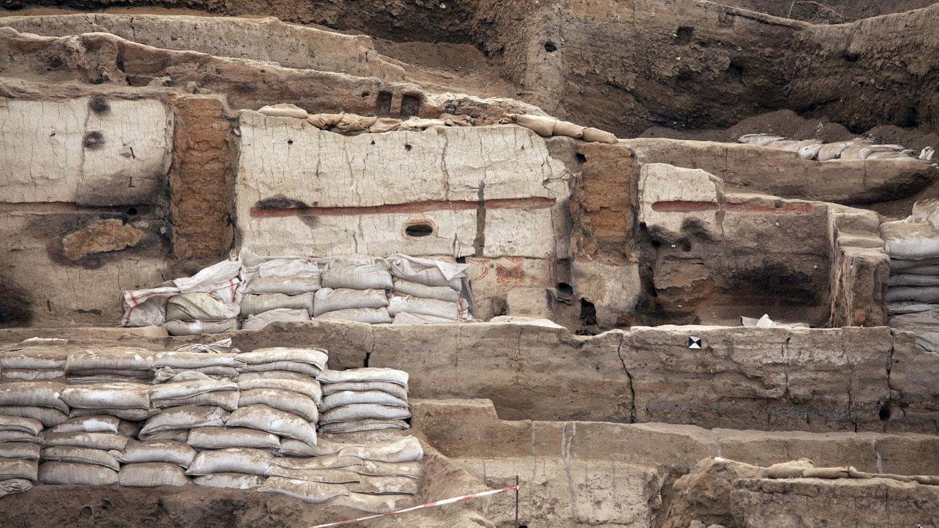 Höhlenmalereien und Grabbeigaben