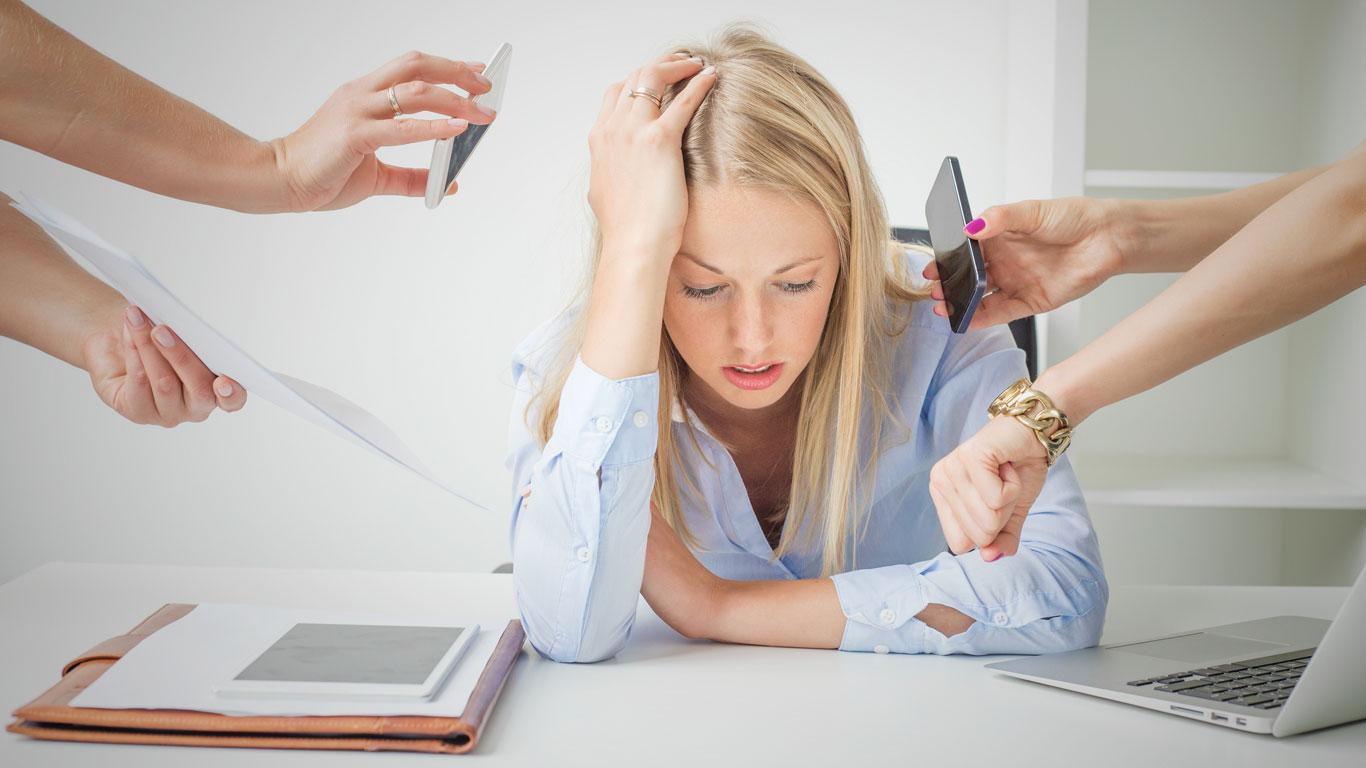 Stress: Angriff auf die Gesundheit