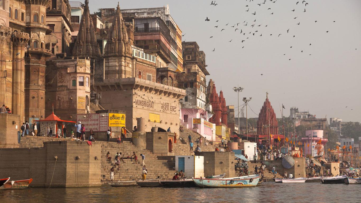 Indiens Fluss in die Ewigkeit