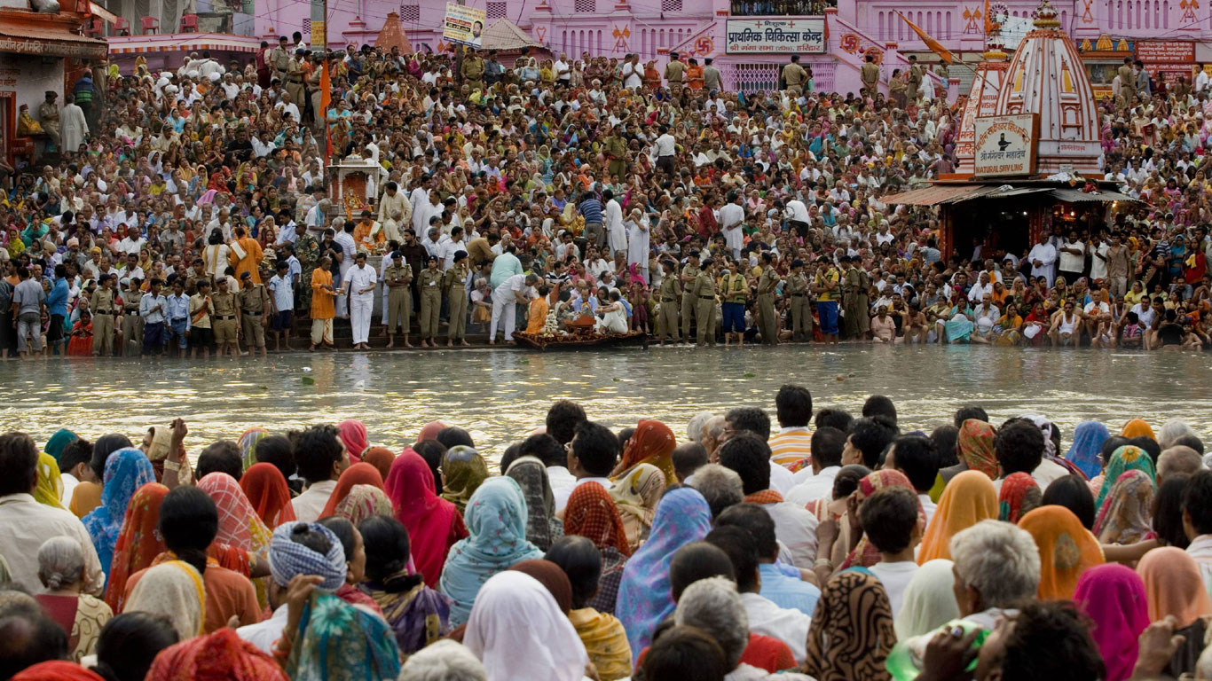 Das Leben am Ganges