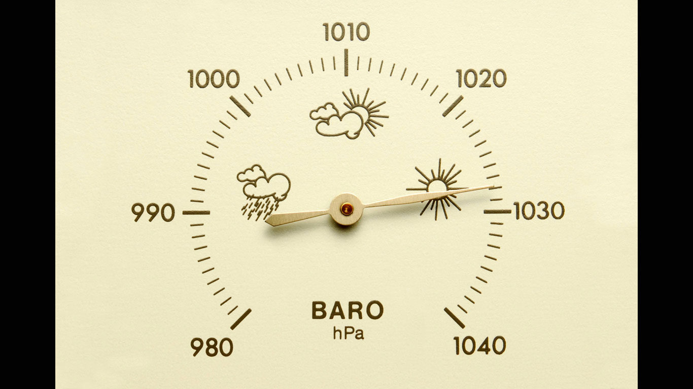Was bedeutet schnell wechselnder Luftdruck?