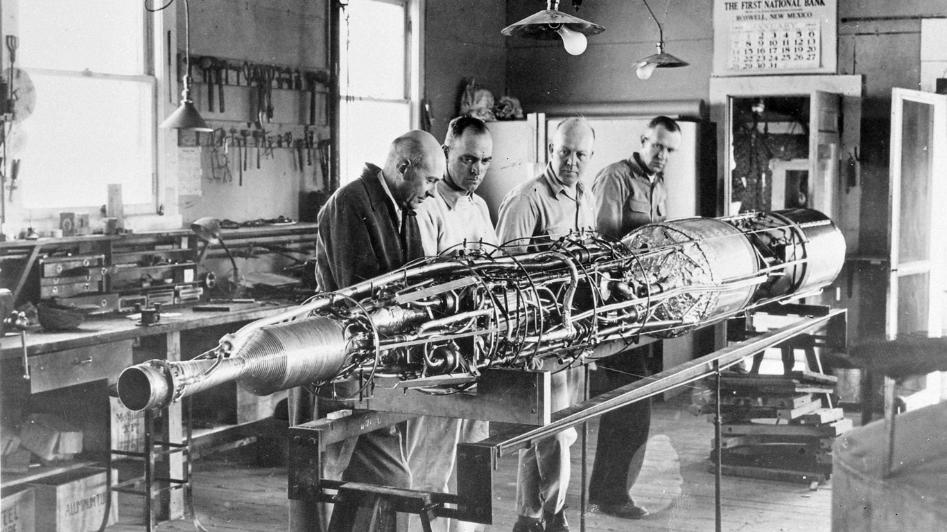 1926: Dr. Robert H. Goddard