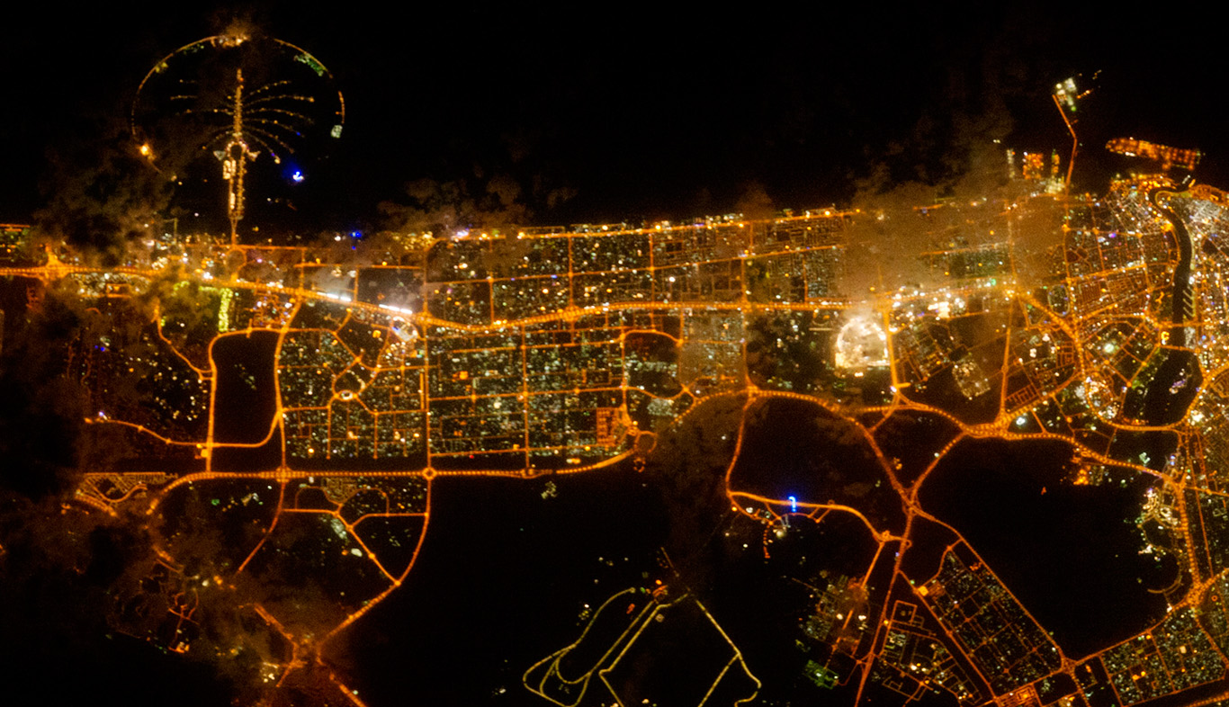 Dubai-Stadt