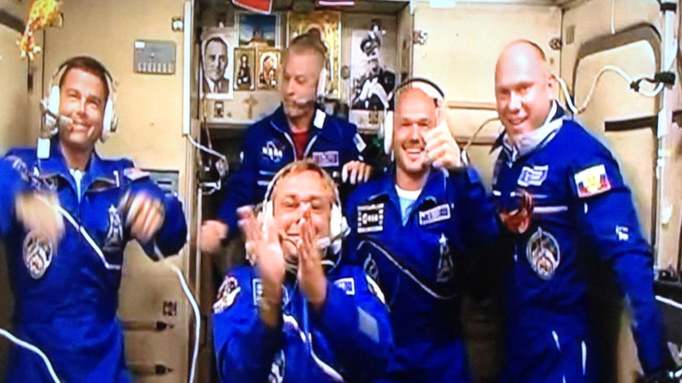 Herzlich Willkommen auf der ISS!