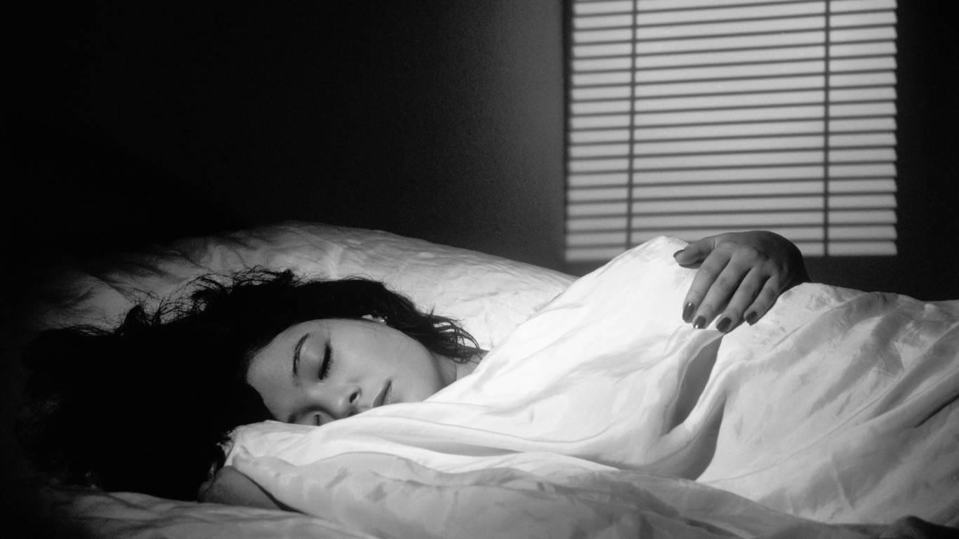 Vollmond ist verantwortlich für schlechten Schlaf