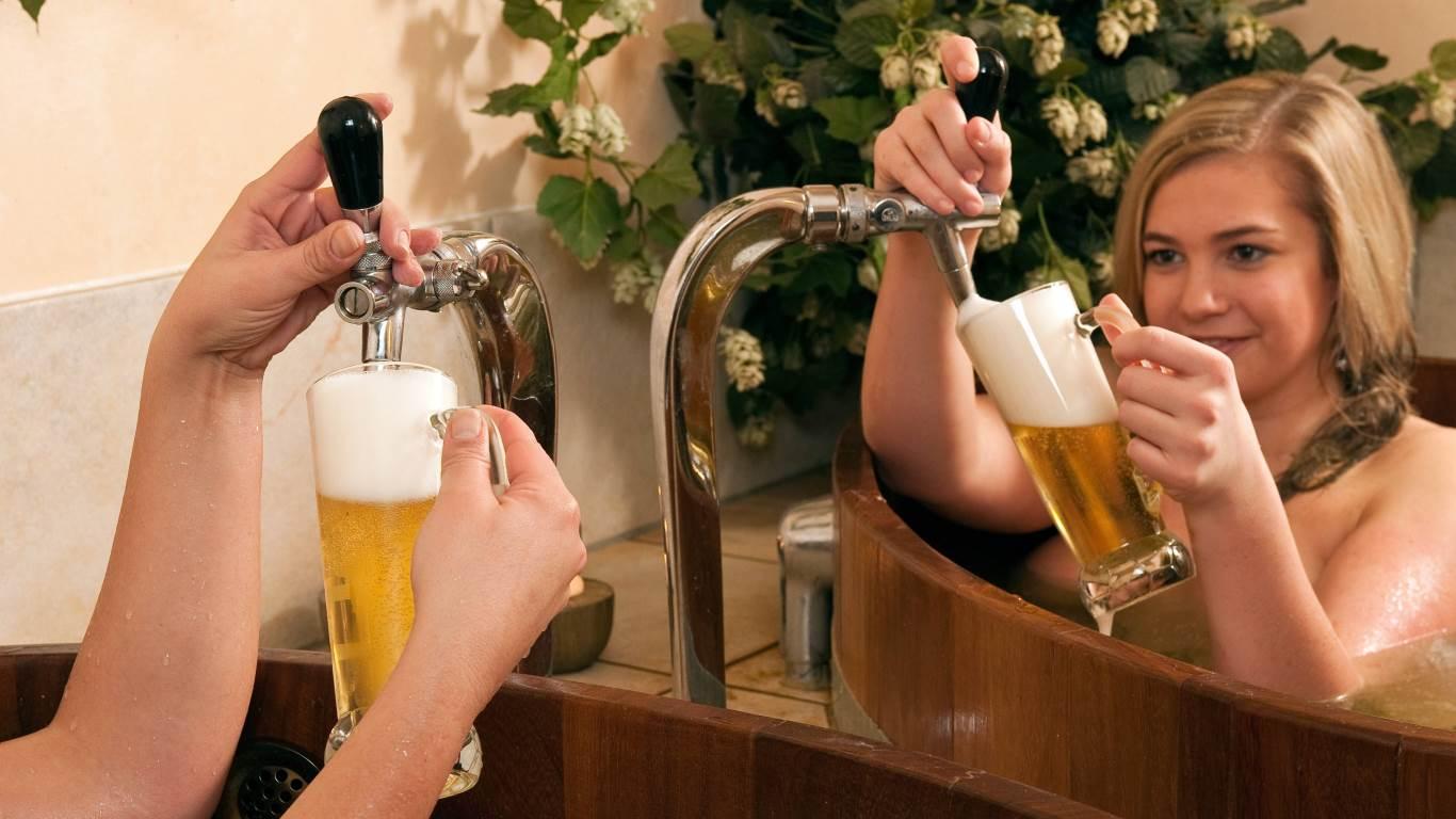Bier für Haut und Haare