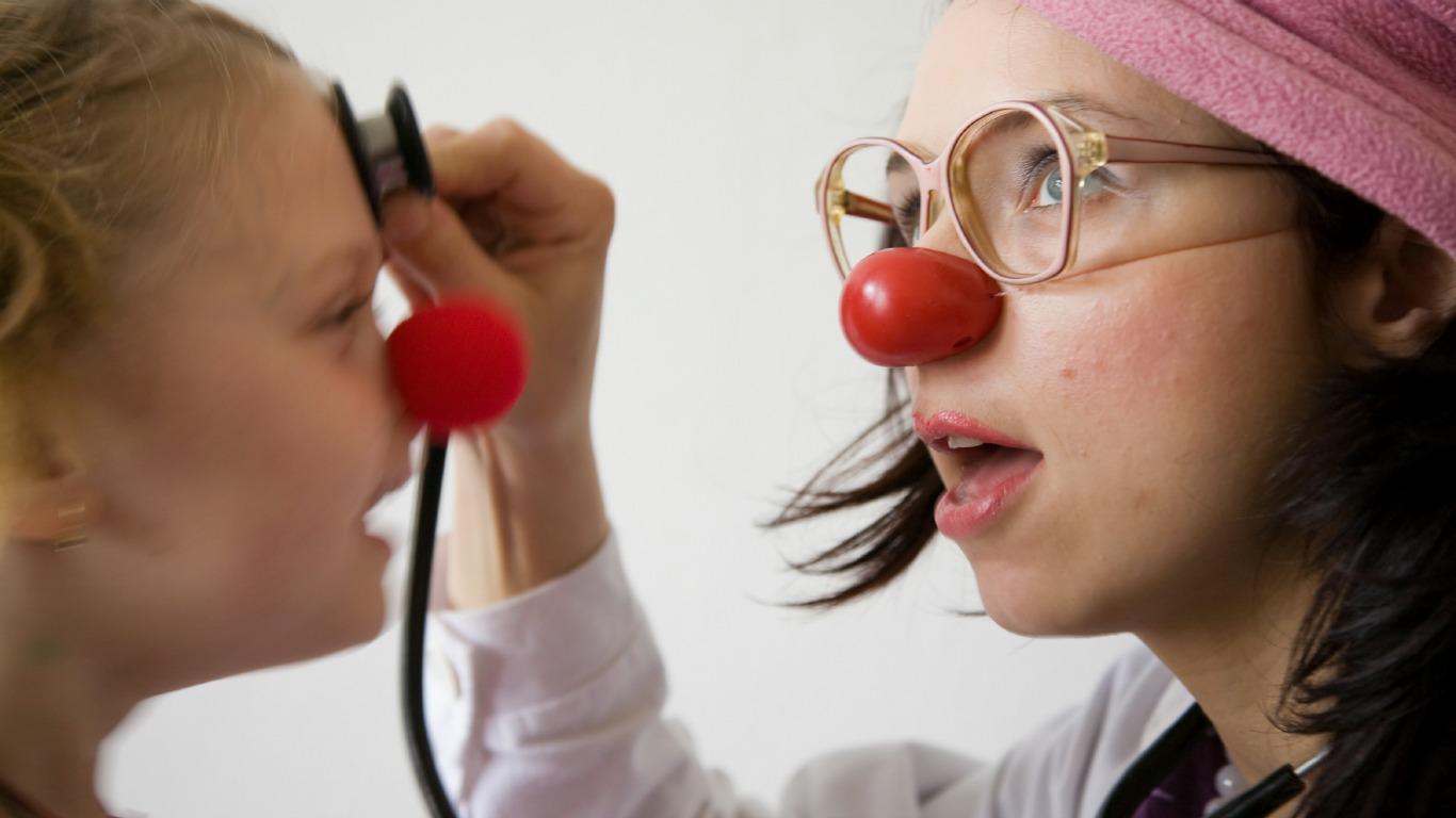 Wohltätige Clowns