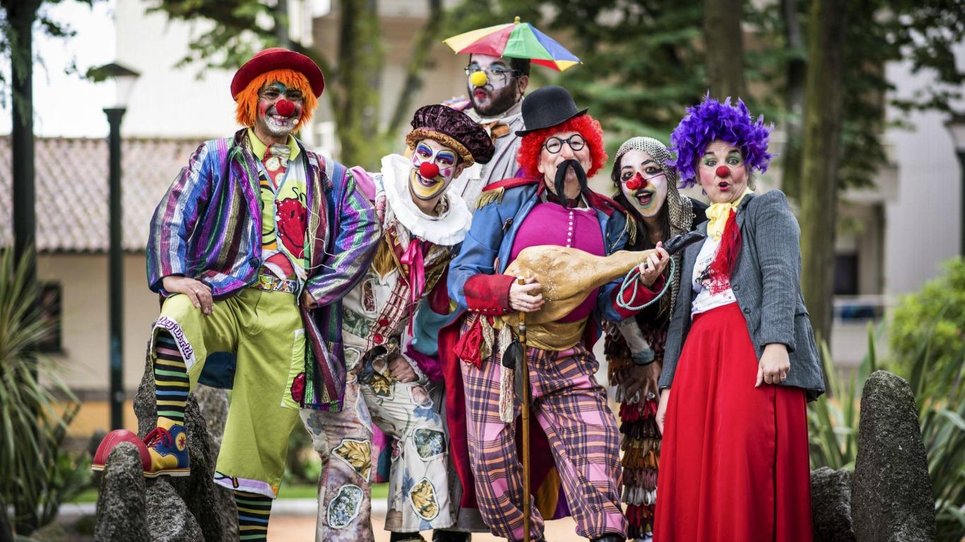 Clowns zwischen Vergangenheit und Zukunft