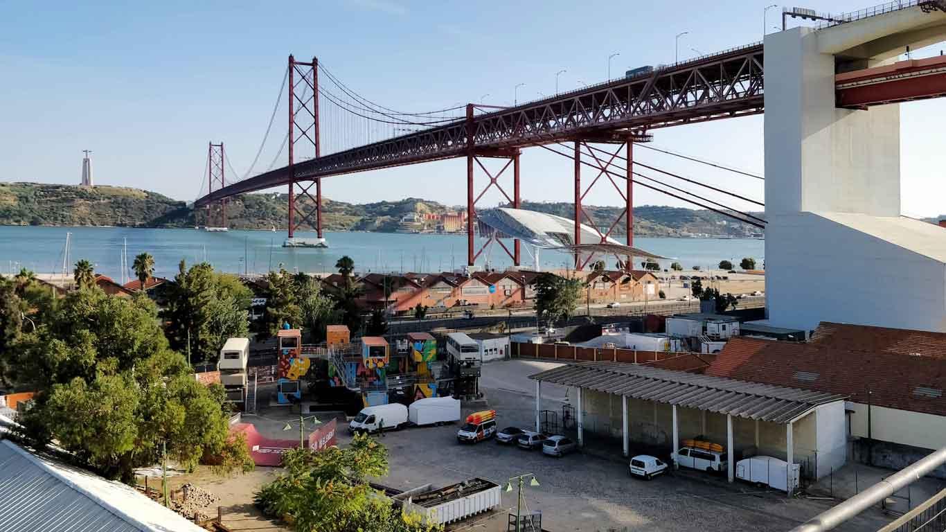Krise wird zur Kreativität – LX Factory in Lissabon