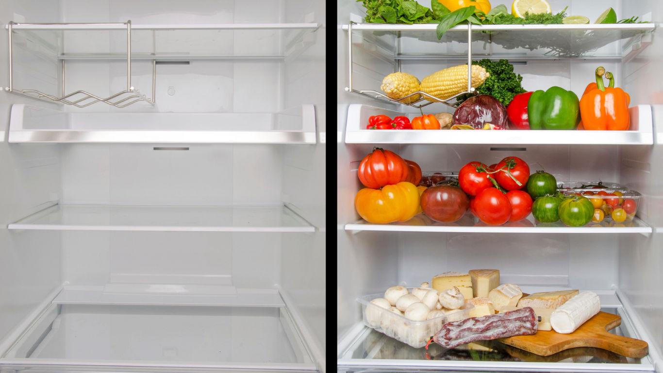 Kühlschrank einräumen, aber richtig