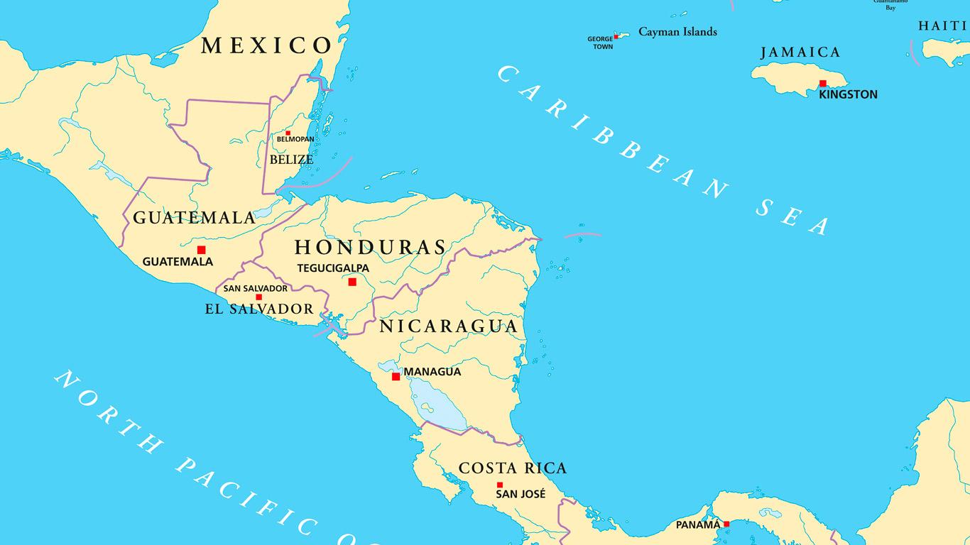 Mittelamerika - Heimat der Wunderpflanze