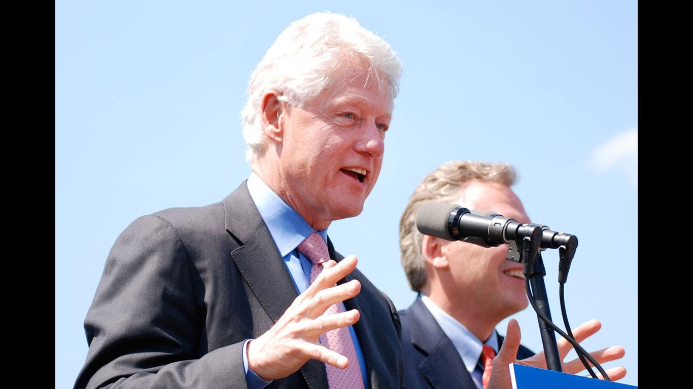 Ex-Präsident mit Hörgerät