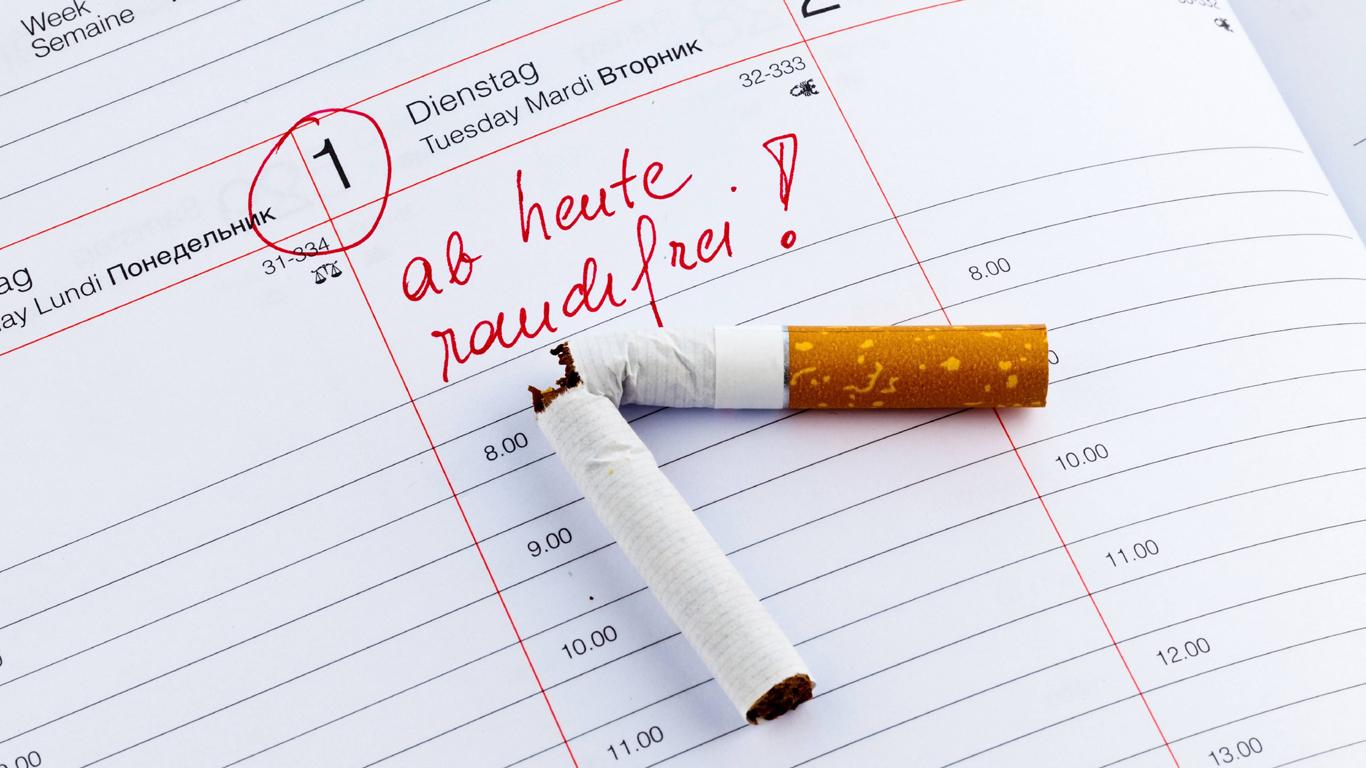 Was passiert im Körper, wenn man zu Rauchen aufhört?