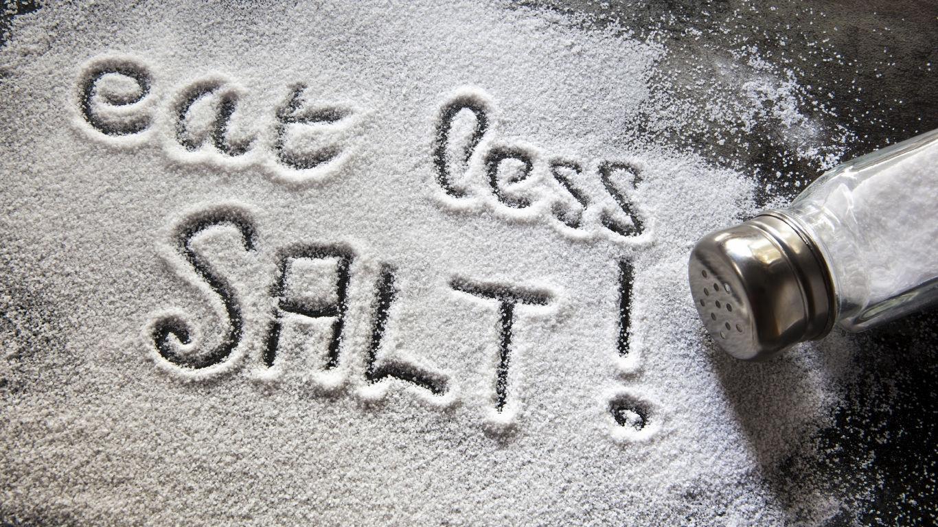 Nicht zu viel Salz