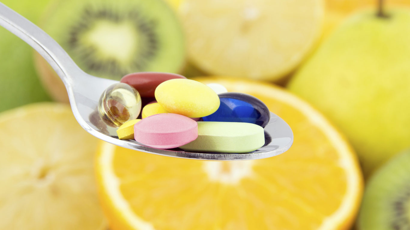 Vitaminpillen sind gesund
