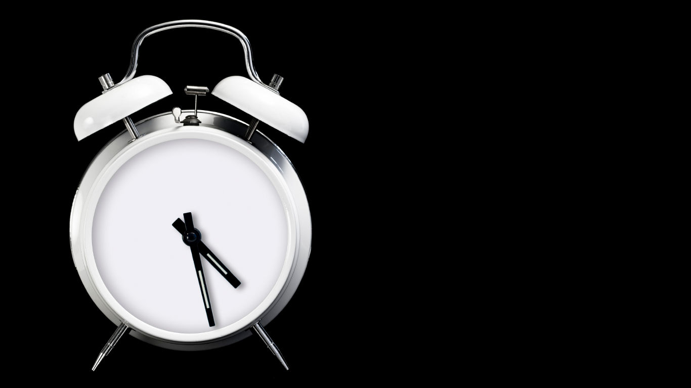 Die Uhr stellen
