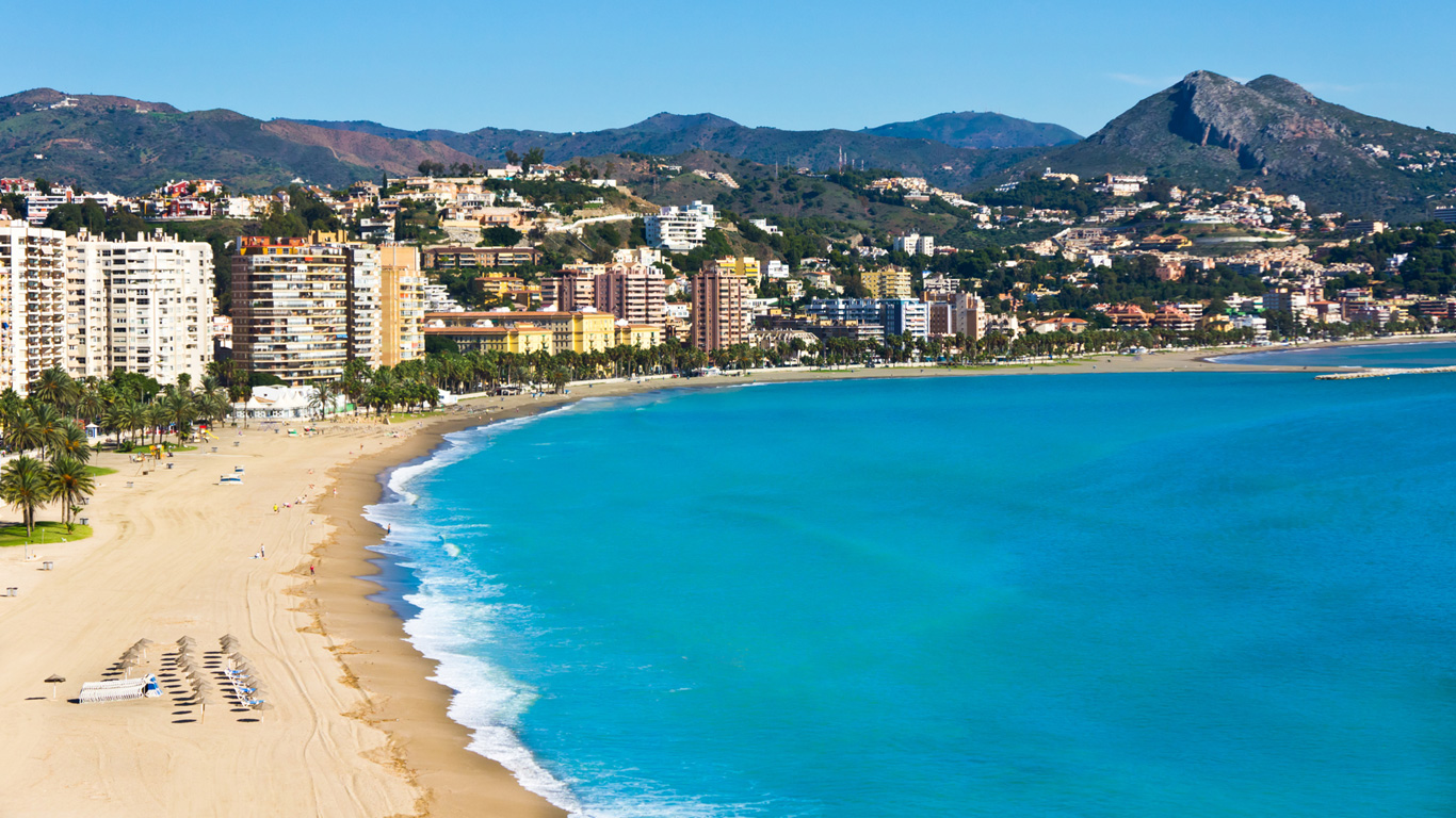 Màlaga – Flache Strände und Chiringuitos