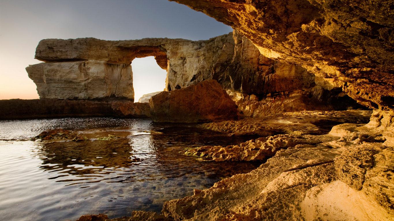 Meereshöhlen, Malta
