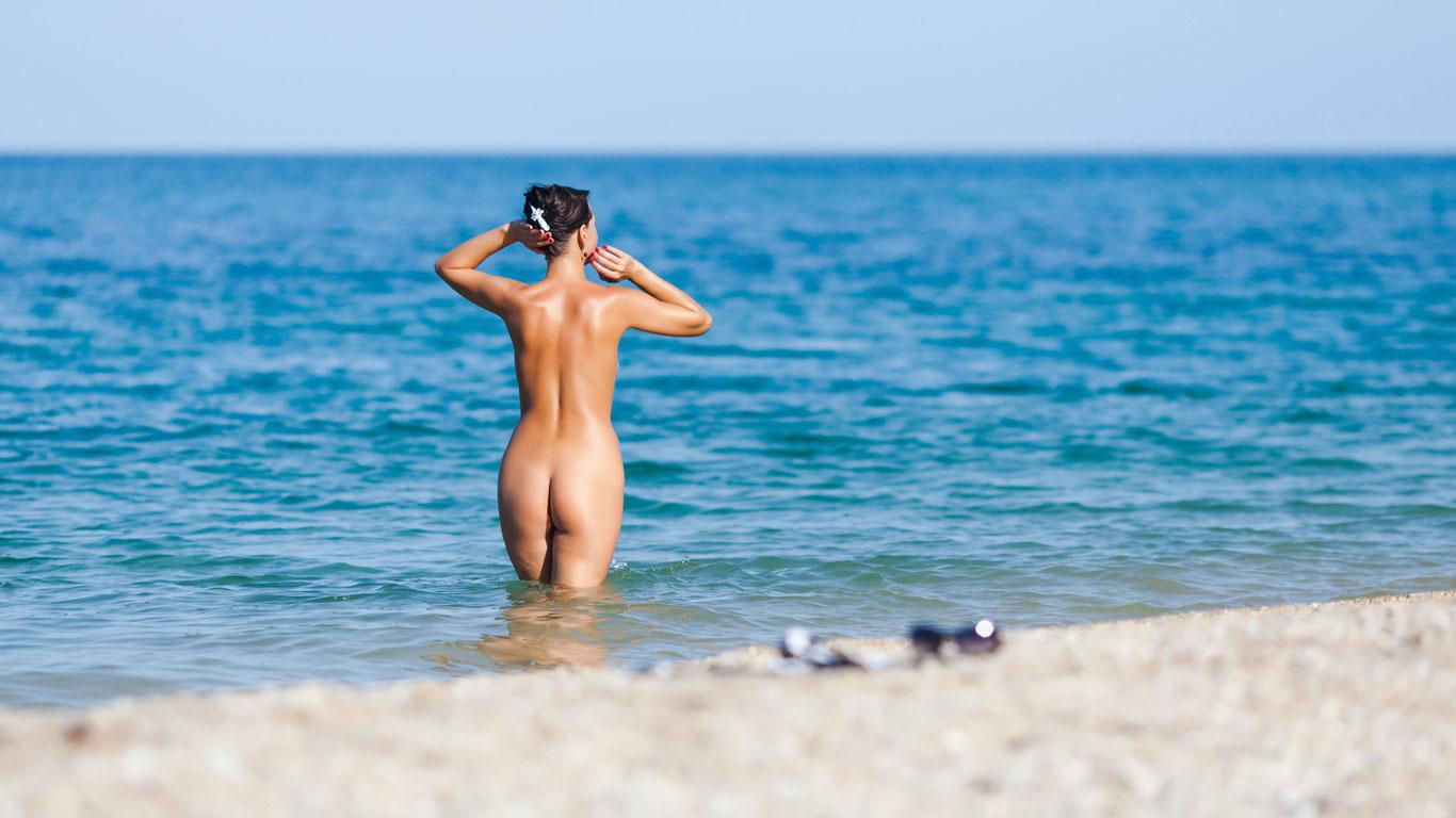 image Nude beach beach camp bareback swingers