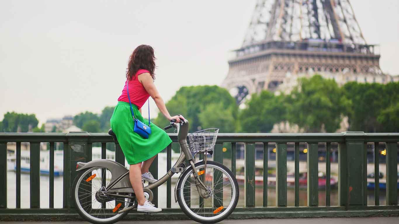 Biken an der Seine: Paris