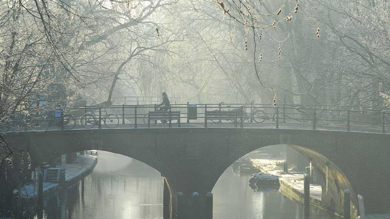 Drahtesel als Teil der Stadt: Utrecht