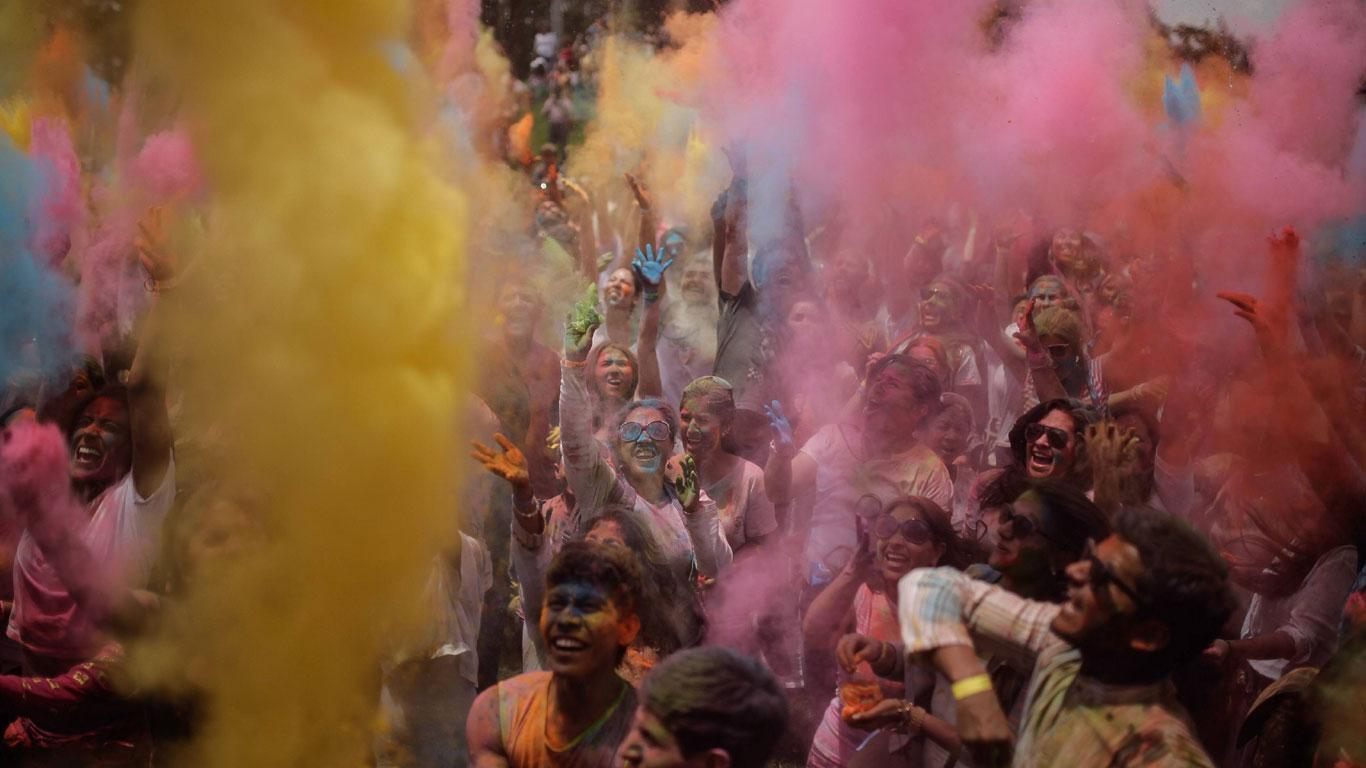 Explosion des Farbspektrums