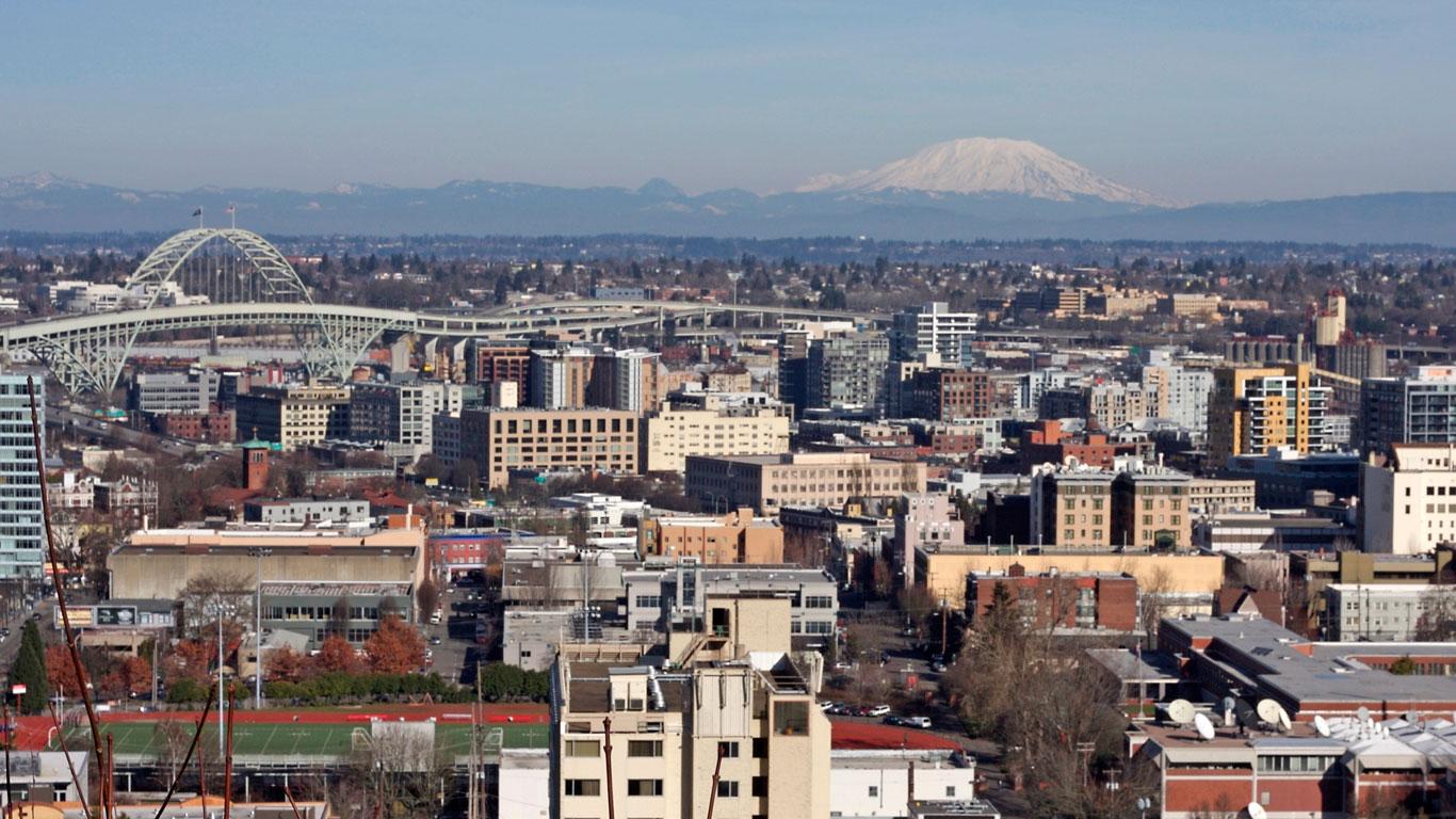 Unterschiedlich geformt: Portland