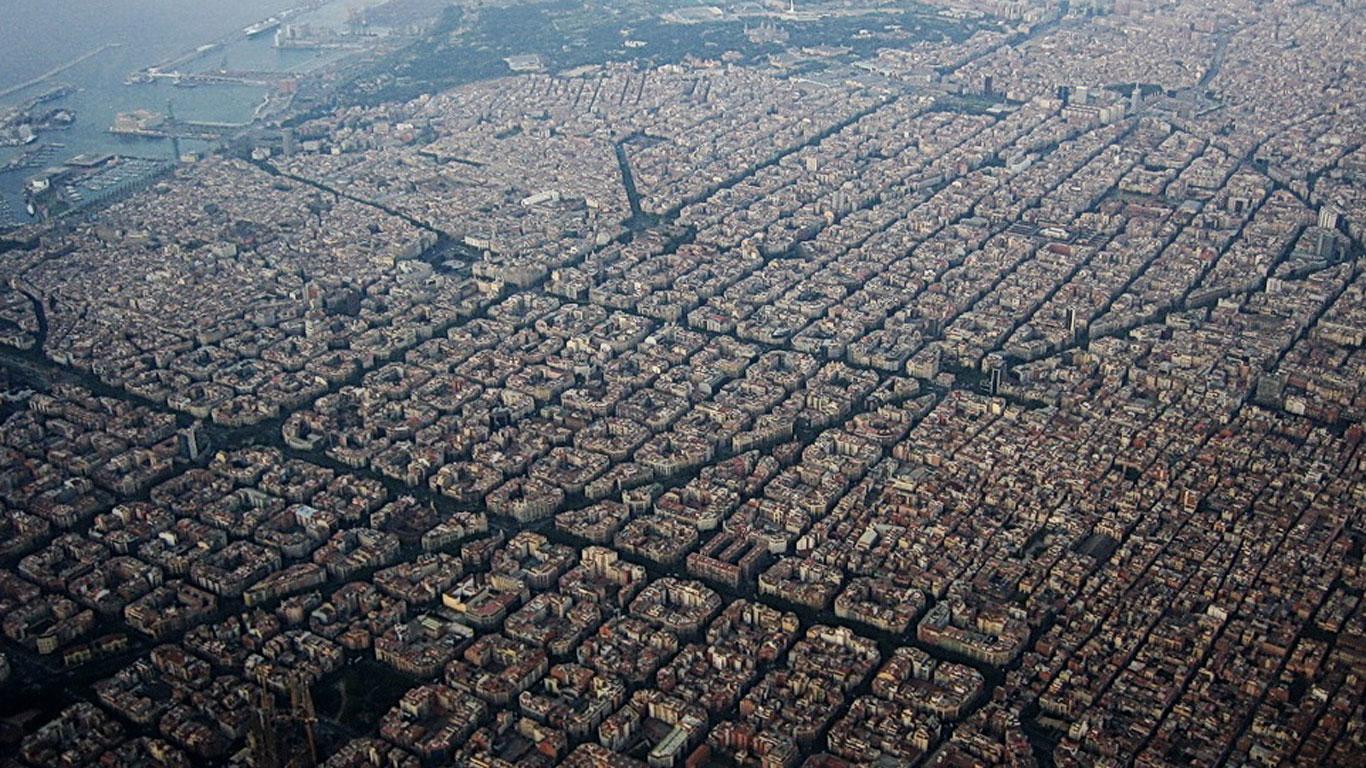Stadterweiterung Eixample in Barcelona
