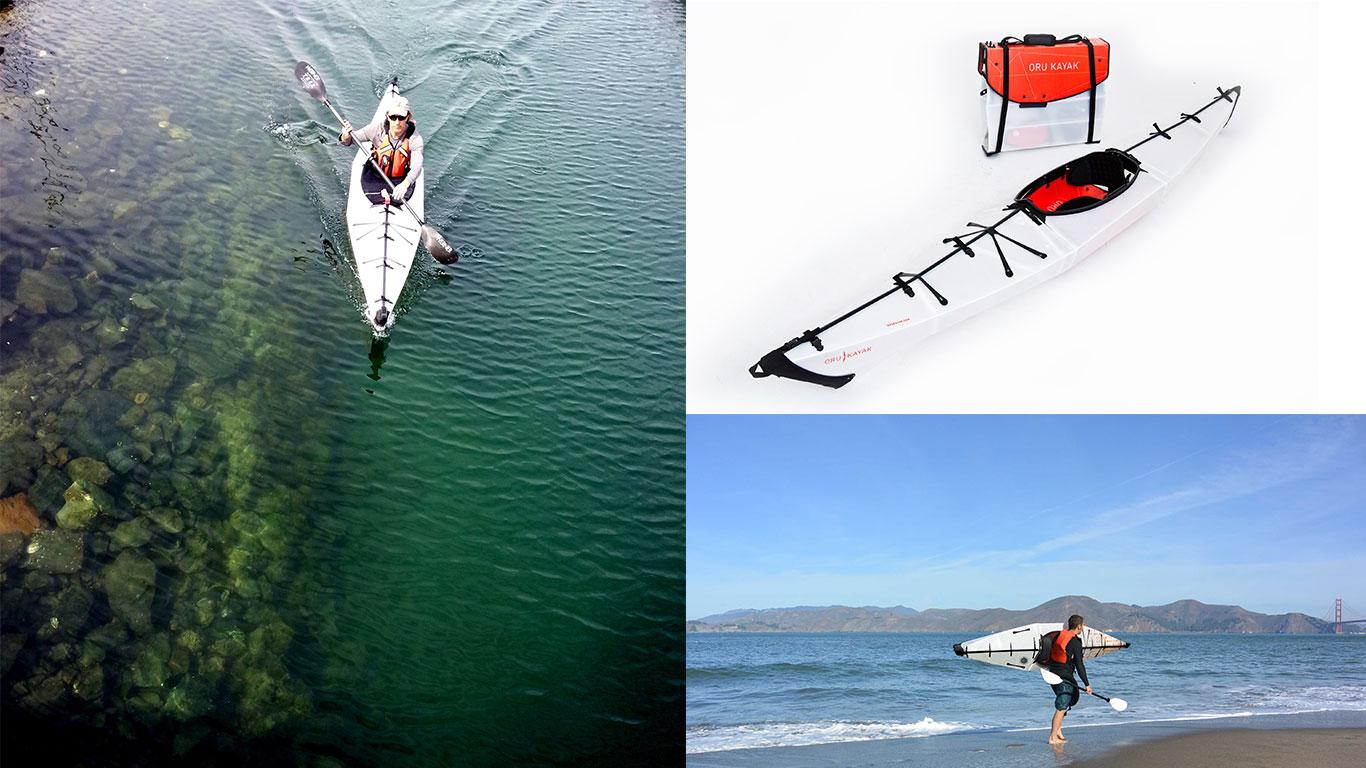 Ein Kayak zum Falten?