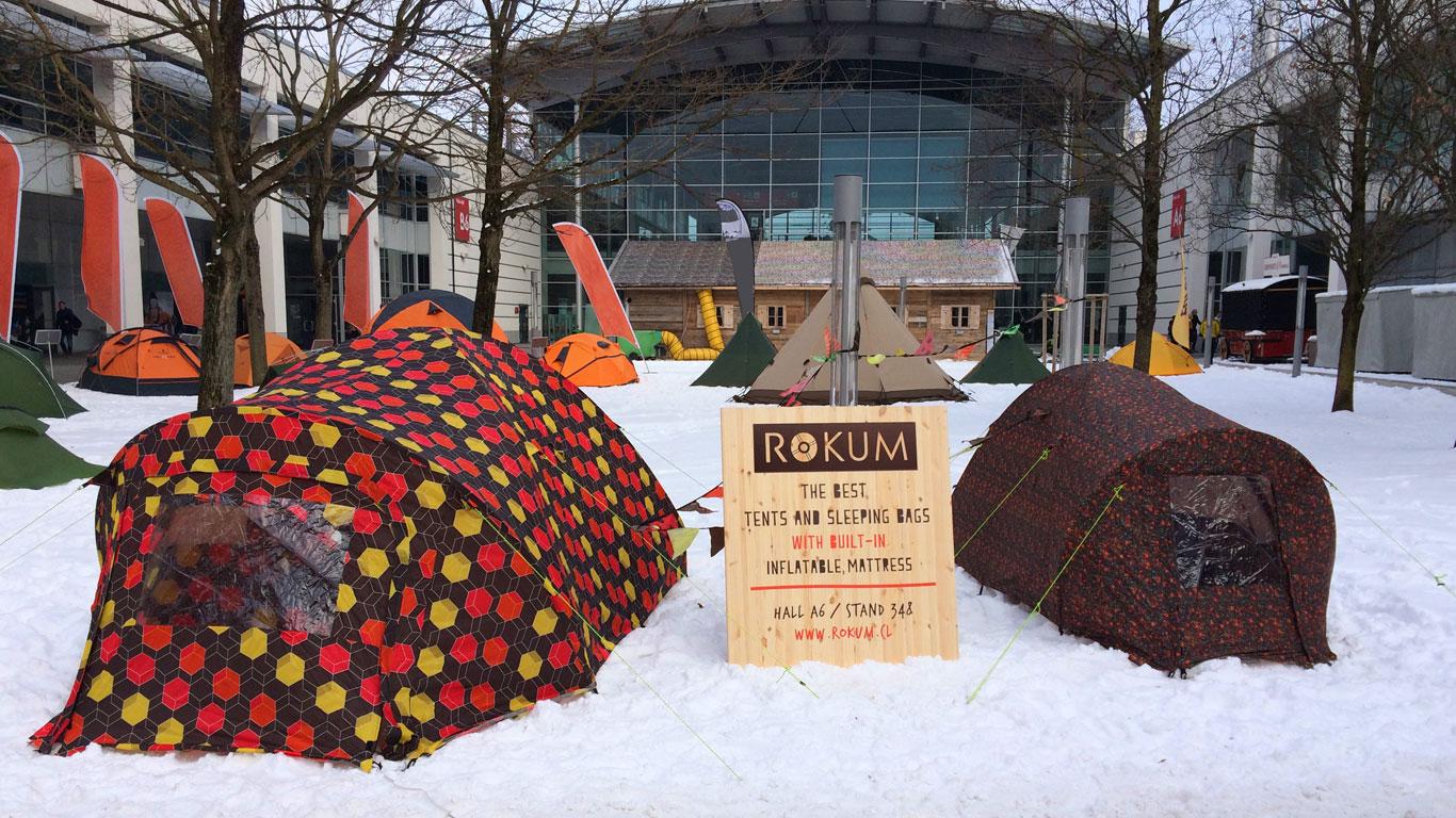 Bunt, bunter – Zelte aus Chile