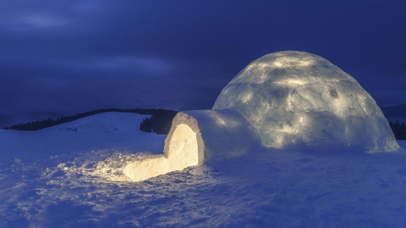 Notunterkunft Im Schnee: So Baut Man Sich Ein Iglu