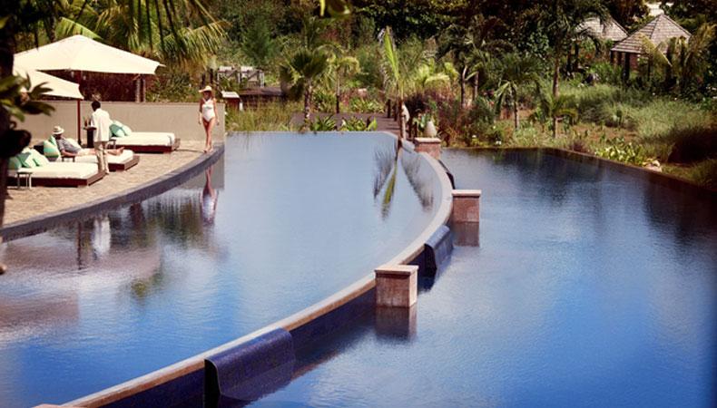Seychellen: Über die Palmen und bis zum Meer