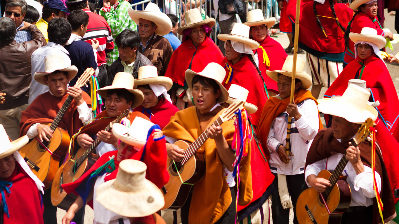 Cajamarca: Perus Karnevalshochburg