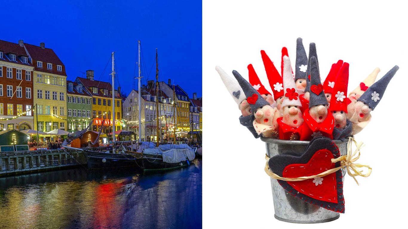 In Dänemark wird an Weihnachten gewichtelt
