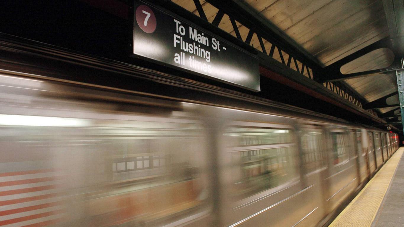 Mit der U-Bahn auf Weltreise