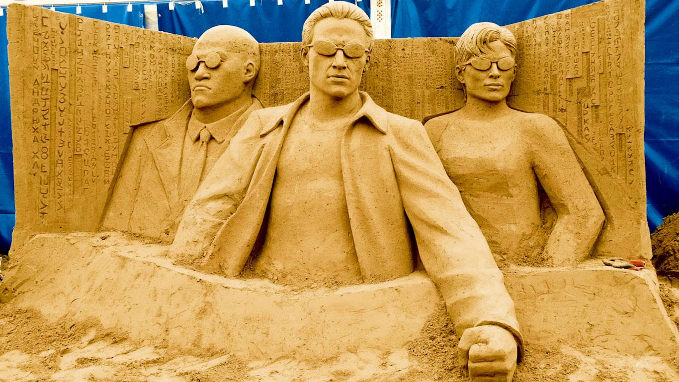 Sand im Getriebe der Matrix
