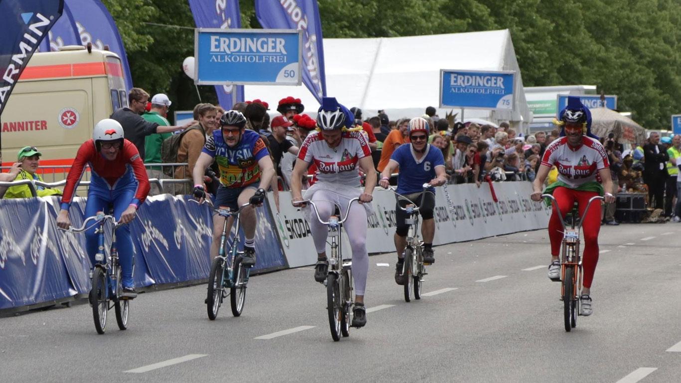 """Platz 10: """"World-Klapp 2015"""", 24-Stunden-Radrennen in Schopp"""