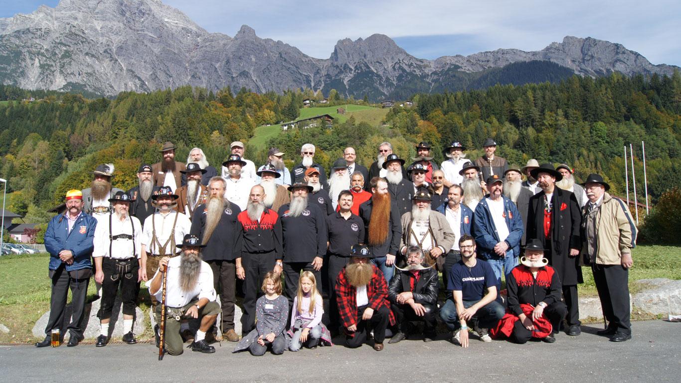 Platz 2: Weltmeisterschaft der Bartträger  in Saalfelden Leogang