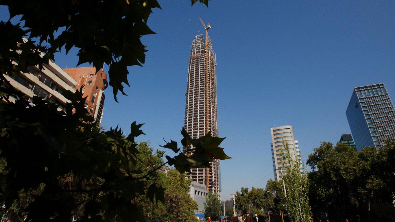 Turmbau in Südamerika