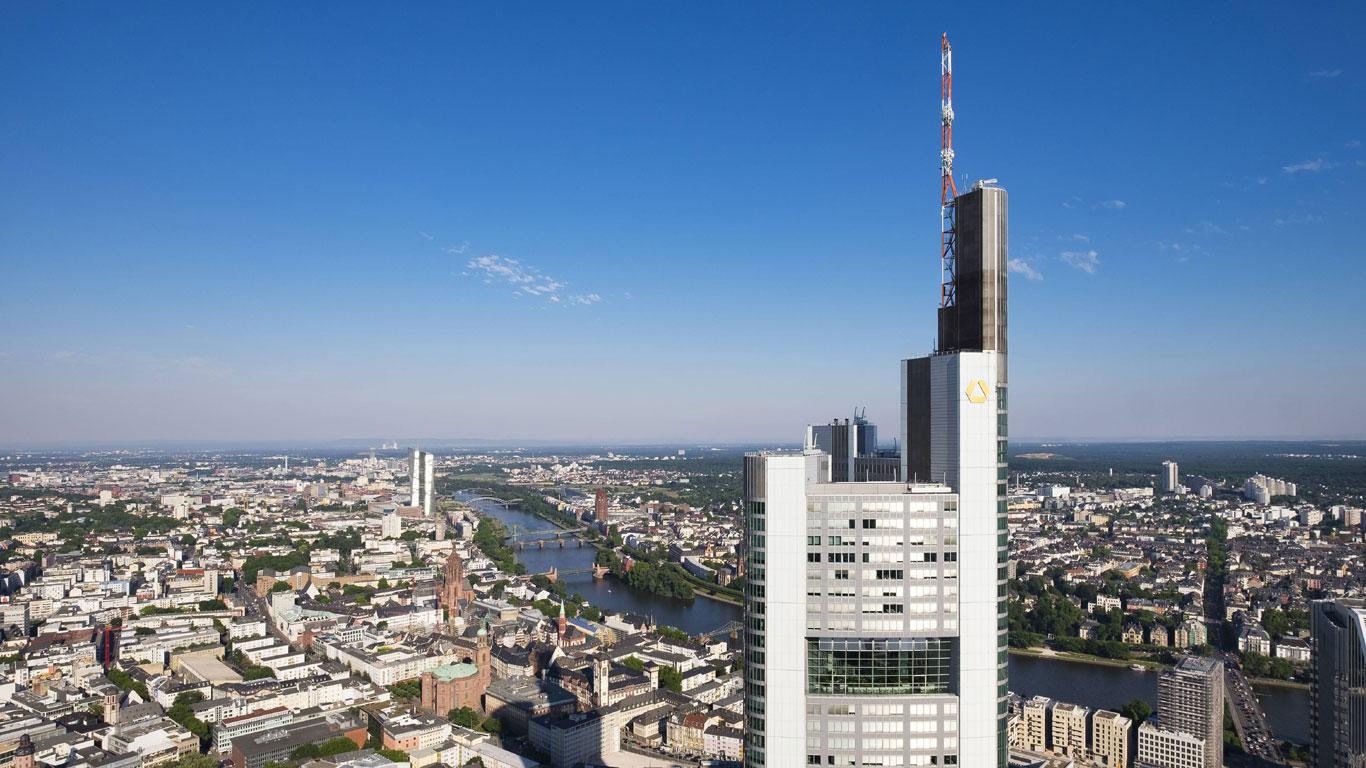 Der Commerzbank Tower in Mainhattan