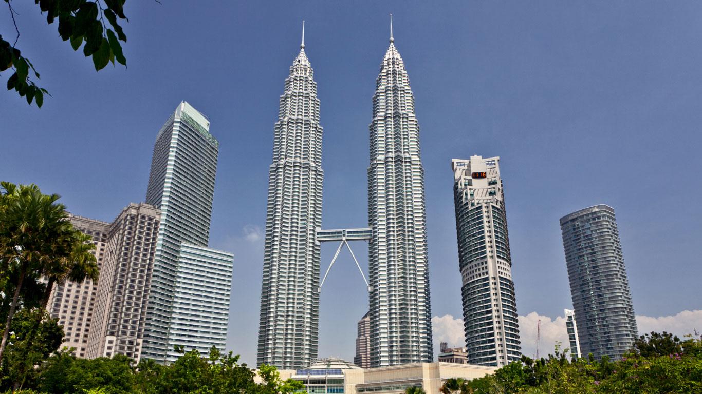 Die Zwillingstürme von Kuala Lumpur