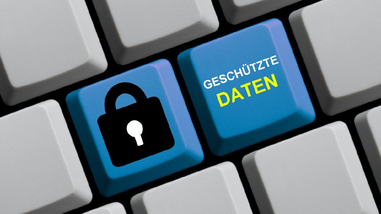 Datenschutz – ich habe fertig.