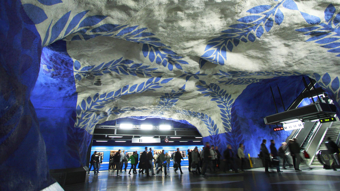 Bemalte Höhlen