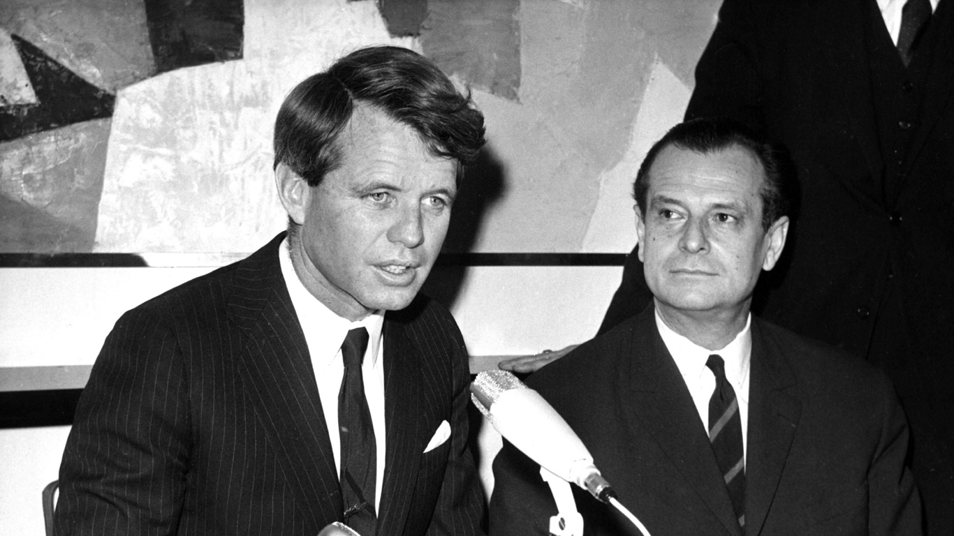 Robert F. Kennedy: 6. Juni 1968, Los Angeles