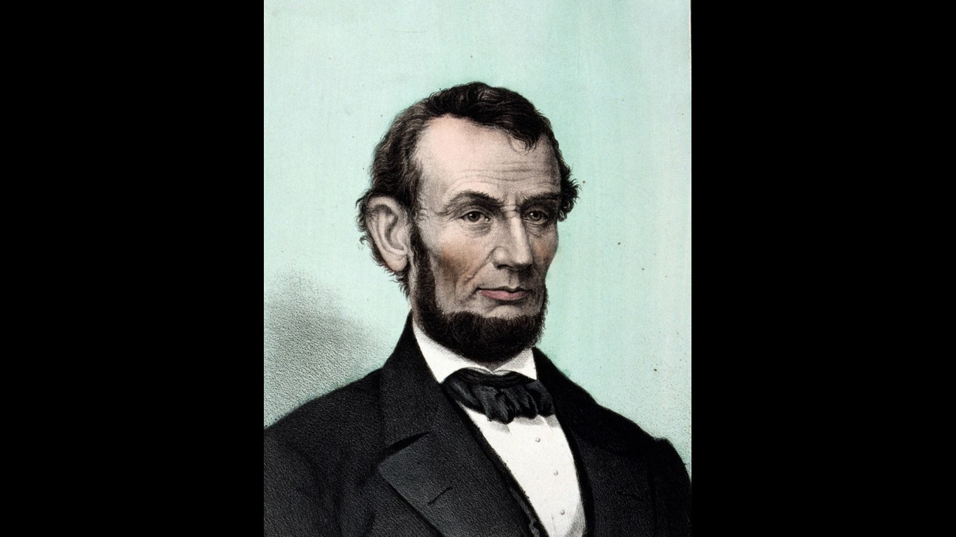 Abraham Lincoln: 14. April 1865, Washington D.C.
