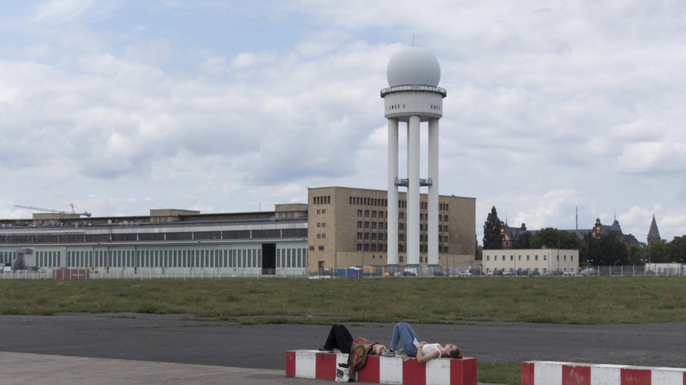 Der Stadtflughafen Tempelhof