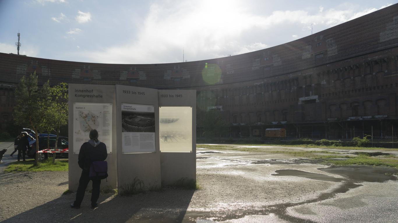 """Das Nürnberger """"Kolosseum"""""""
